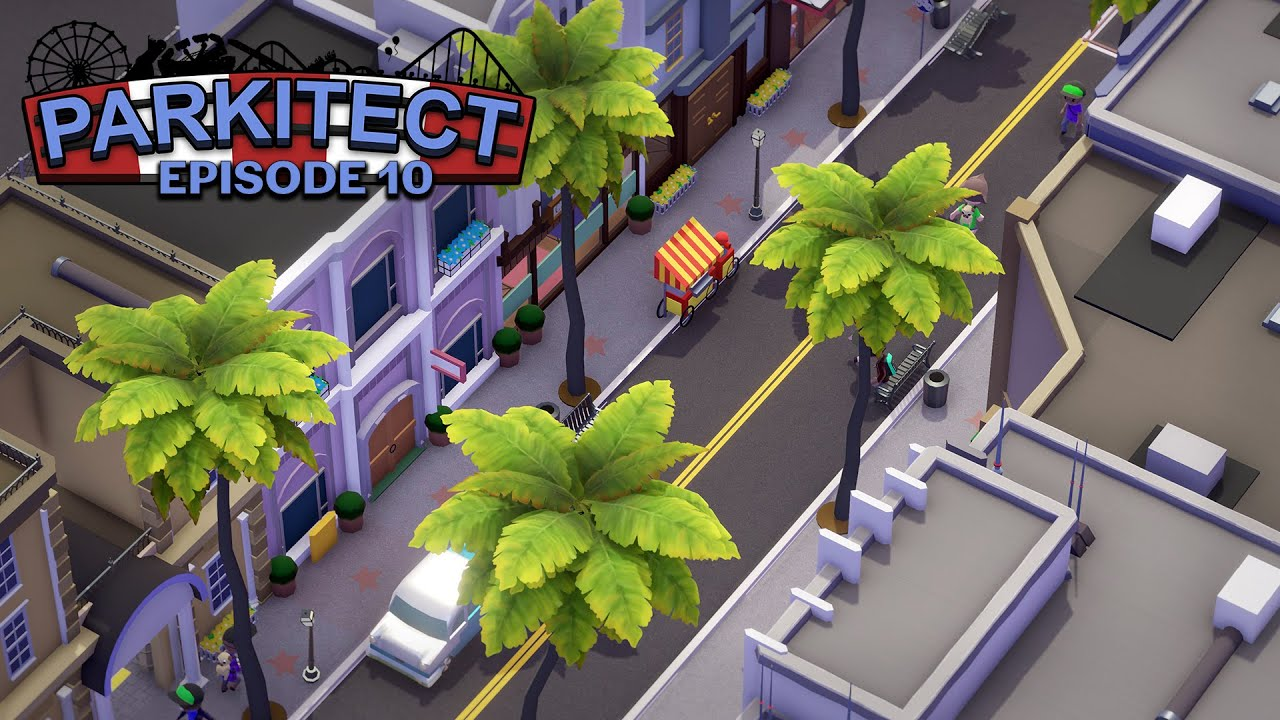 Hyper Coaster Redo | Parkitect | Two Dollars Studios: EP 10