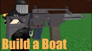 G36K Speed Build | Build a Boat ROBLOX