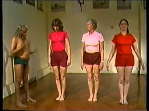 BKS Iyengar Teaching Yoga asana class London 1985 part 2 of 2 (Clip 3 of 3)