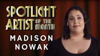 Madison Nowak - BTC Artist of the Month June 2021