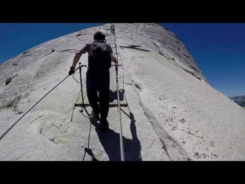 Half Dome Cables   GoPro   Yosemite
