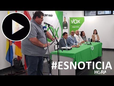 🎥 #ESNOTICIA Vox presenta su candidatura a las Municipales 2019