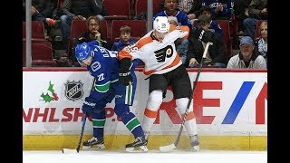 Philadelphia Flyers vs Vancouver Canucks, 07 december 2017