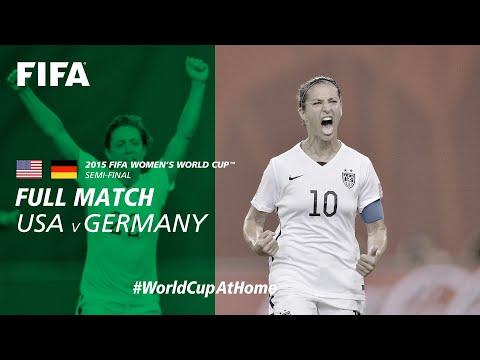 #WorldCupAtHome | USA v Germany (Canada 2015)