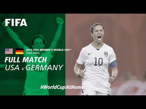 #WorldCupAtHome | USA V Germany (Canada 2015)