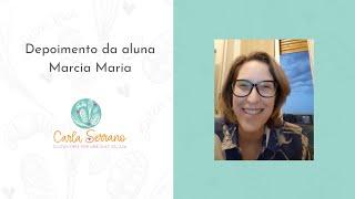 Depoimento da aluna Márcia Maria, da Itália