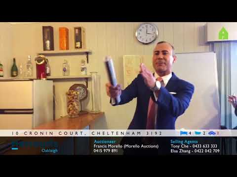 10 Cronin Ct   Auction Reporters Video