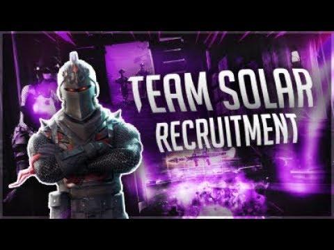 fortnite clan recruitment team solar ps4 xbox pc - fortnite clan pc