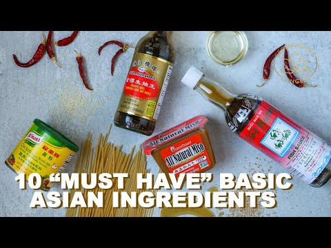 10 BASIC Ingredients Every Kitchen MUST Have for Asian Cooking #Stayhome Cook #Withme