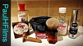 Gillette Aristocrat DE Razor (1976) | Fine L'Orange Noir Shaving Soap
