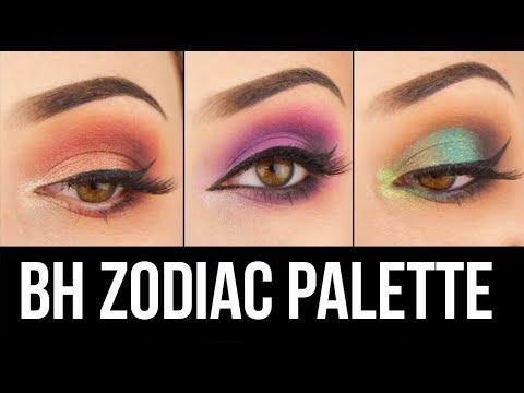 3 Eye Makeup Looks, 1 Palette: BH Cosmetics Zodiac Eyeshadow || KELLI MARISSA