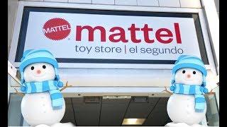 Mattel Toys Hunt - Official Mattel Store Tour - Mattel Makes Disney Cars, Thomas, Jurassic World