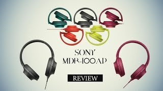 sony h ear on mdr 100aap review