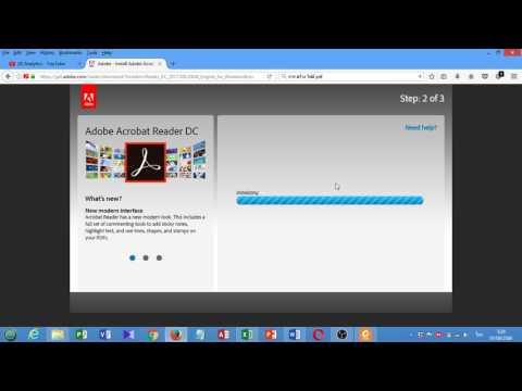 โหลดโปรแกรมอ่าน ไฟล์ PDF Acrobat Reader ดาวน์โหลดโปรแกรมอ่าน ไฟล์ PDF Acrobat Reader DC