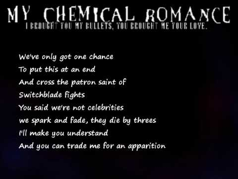 My Chemical Romance - Our Lady Of Sorrows (lyrics)