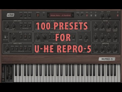 U-He Repro 5 Soundset - A Hundred