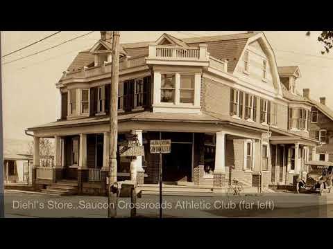 Main Street Memories (Hellertown, PA) Part 1 of 2 of vintage footage