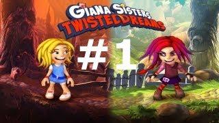 Zagrajmy w Giana Sisters: Twisted Dreams odc.1 Dwie siostry