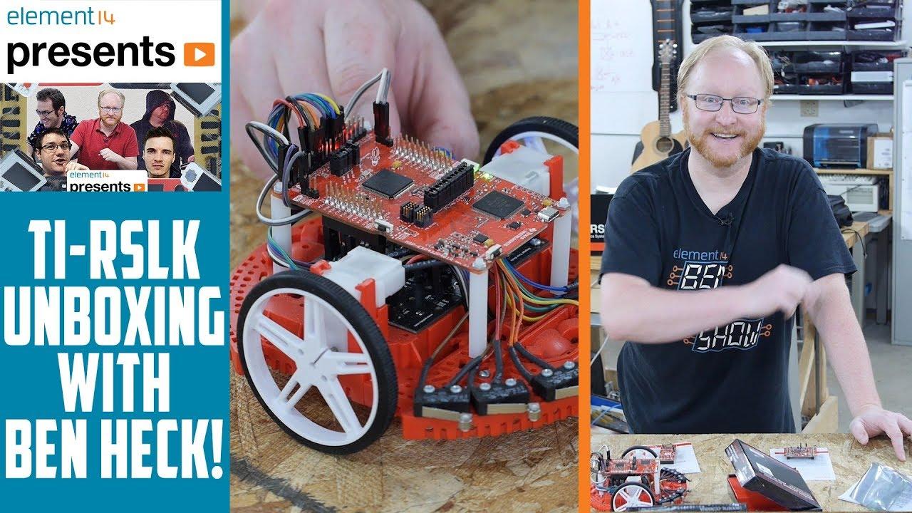 Texas Instruments Robotics System Learning Kit Ti Rslk Unboxing