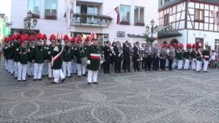 Schützenfest 2017 - Platzkonzert auf dem Ahrweiler Marktplatz