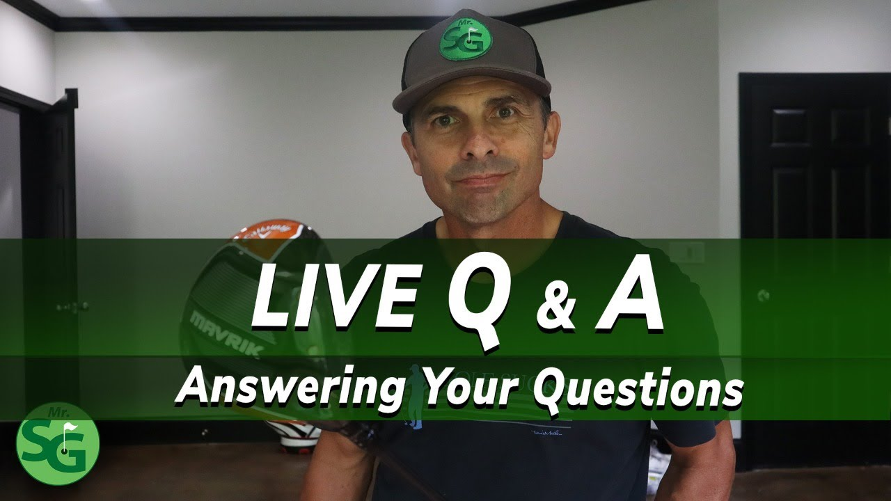 Live Q & A with Mr. Short Game - Why I Moved from CA to GA
