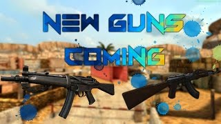 Bullet Force New Guns Coming: Ak-47, MP5, And Kriss Vector