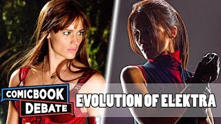 Evolution of Elektra in Cartoons, Movies & TV in 4 Minutes (2018)