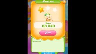 Candy Crush Jelly Saga Level 154