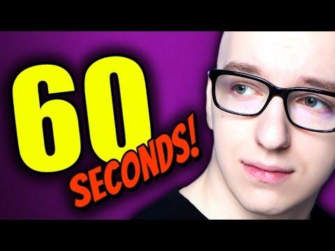 💪 GIMPER CHALLENGE w 60 SECONDS!