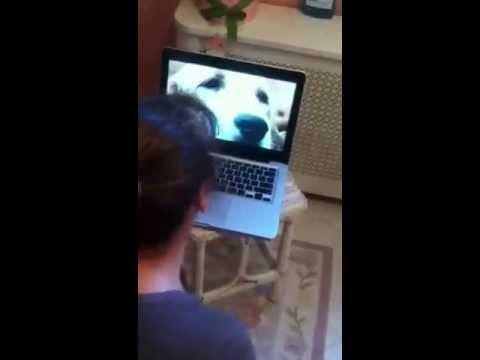 """Mom Laughing At """"Sad Dog Diary"""""""