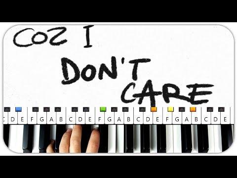 I Dont Care Chords Ed Sheeran