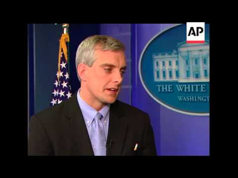 Denis McDonough of the National Security Council talks to the Associated Press about some of the cha