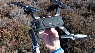 Eachine EG 16 folding GPS Optical Flow Tiltable 2k/4k HD camera 5g WiFi FPV Budget Drone Review