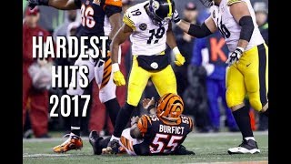 Hardest Hits of the 2017-18 NFL/College Football Season (Part 1)