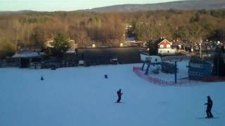 Snowboarding at mount southington thumbnail