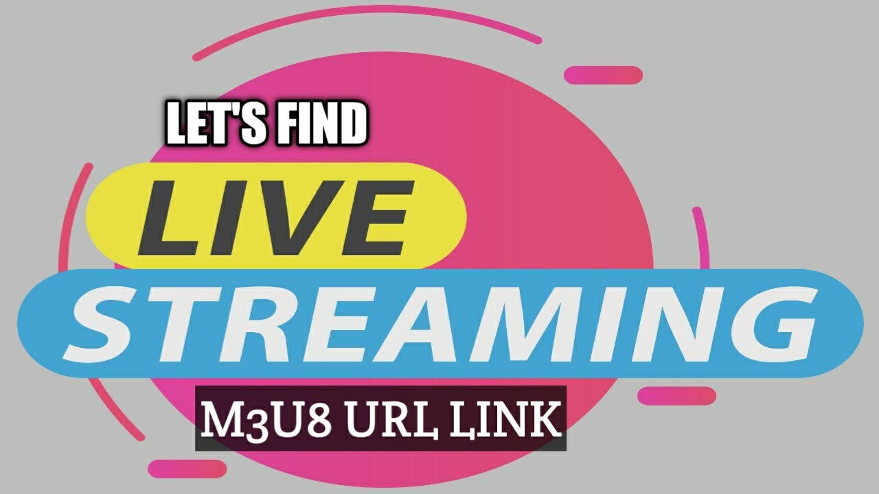 How to find m3u8 live stream url