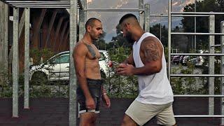 Fitness Challenge - Low Kicks & Bauchschläge für Verlierer