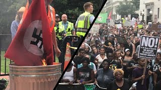 What We Saw at the Unite the Right II Protest