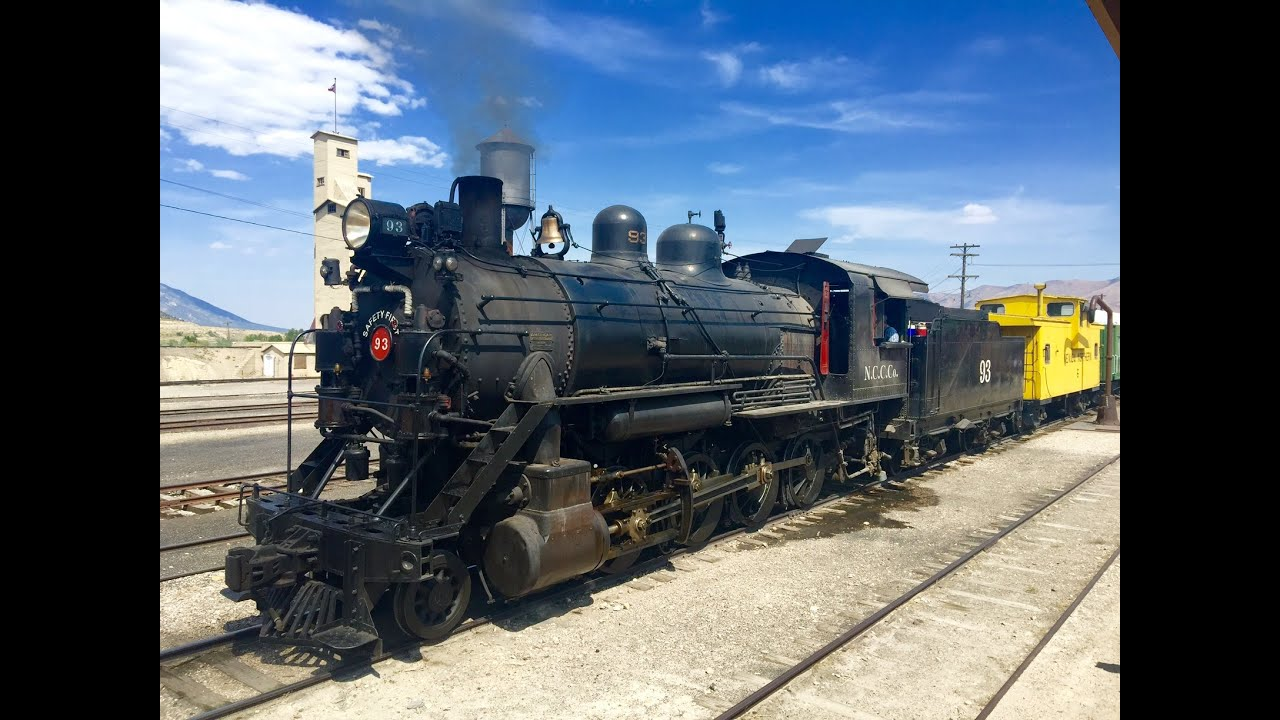 Northern Nevada Railway Ely Nevada Youtube