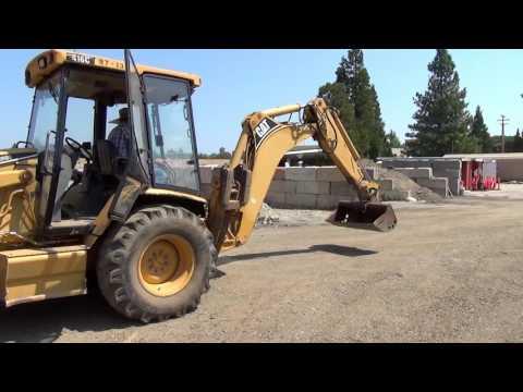 Nevada County Surplus Auction - Lot 800: 1999 Caterpillar 416C Backhoe