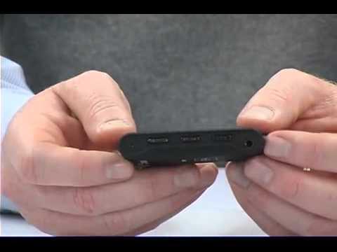 Sharper Image MP3/Video Player Key Chain