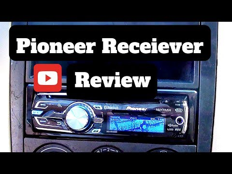 pioneer deh p8400bh cd receiver review youtube rh youtube com pioneer radio deh-p8400bh manual pioneer mixtrax deh-p8400bh manual