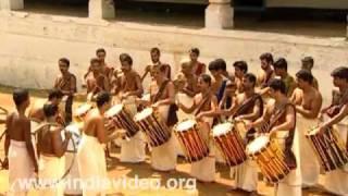 Pandi Melam - Chenda | Traditional Orchestra, Kerala, India