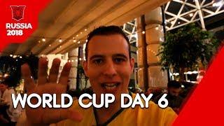 World Cup Day 6: Brazil vs México