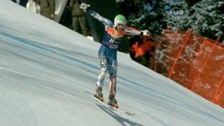 Bode Miller 2nd in Kitzbuehel Downhill - from Universal Sports