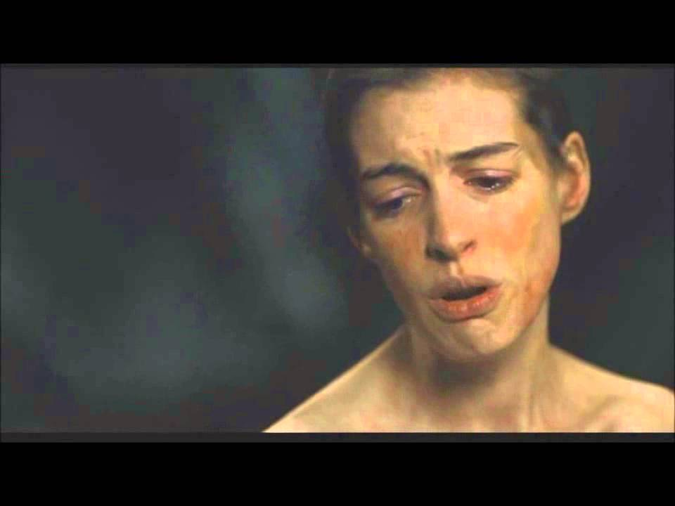 Anne Hathaway I Dreamed A Dream Les Miserables Youtube