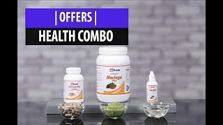 Health Combo with Nature's 3 most powerful herbs.