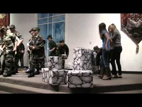 NCOC B.A.S.I.C. youth Courageous skit