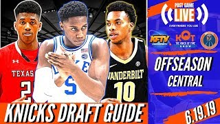 the-ultimate-ny-knicks-draft-2019-guide-rj-barrett-darius-garland-jarrett-culver-2nd-rd-sleepers