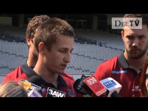 Jack Trengove and Jack Grimes media conference